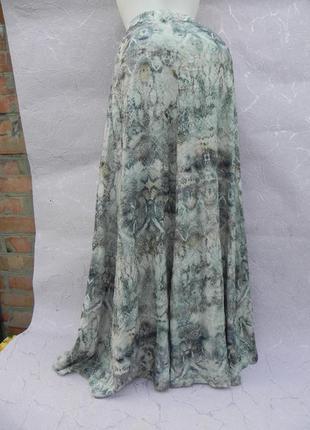 Юбка юбочка шикарная расклешенная zara