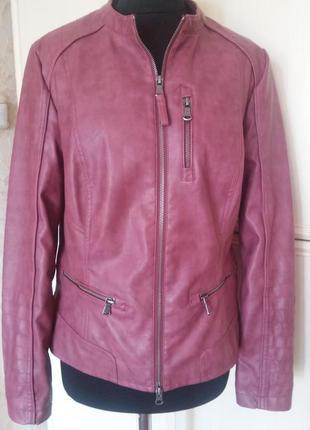Крутая куртка cecil р.l/ много вещей больших размеров
