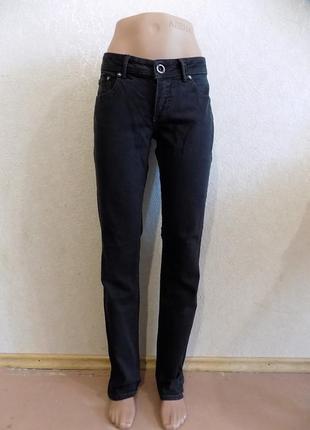Джинсы плотные темно-серые фирменные esprit размер 46