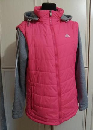 Курточка adidas р. l.много вещей размеров l+
