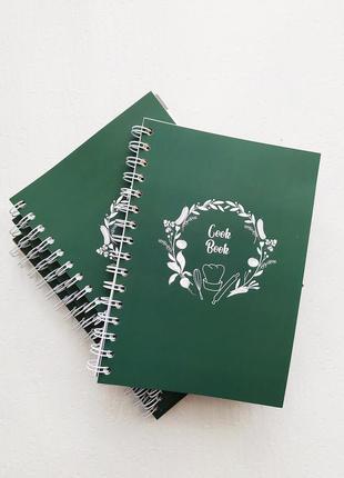 """Блокнот для записи рецептов bobrart, записная книжка, кукбук """"cookbook"""""""