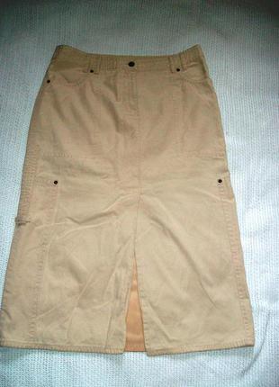 Юбка узкая в стиле сафари marc cain