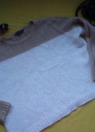 Нежный красивый  свитер оверсайз,джемпер dorothy perkins,р.s