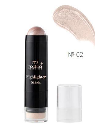№2 malva highlighter stick хайлайтер-стик m-484