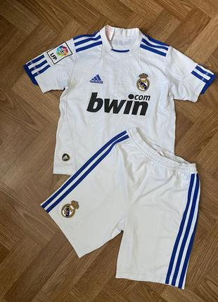 Футбольная форма adidas реал мадрид футболка шорты