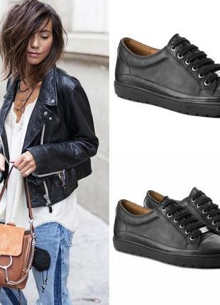 Кеды, кроссовки в городском стиле из высококачественной натуральной кожи сaprice