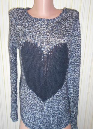 #вязаный свитшот #white stuff #теплый свитер #пуловер  #