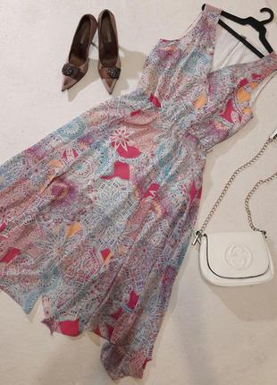 Красивое лёгкое платье размер xl