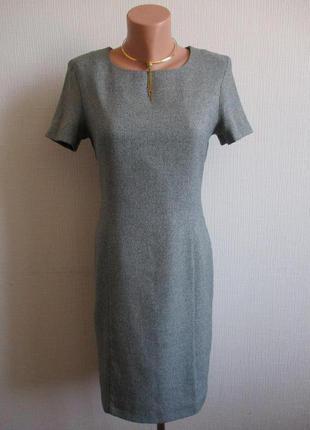 Меланжевое платье-футляр c&a