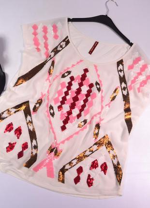 Оригинальная комбинированная блуза next