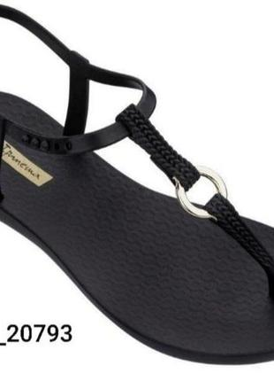 Сандали женские ипанема  ( ipanema charm vii ) чёрный  модель 82760