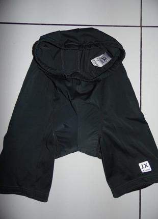 Фирменные шорты для велоспорта - jeantex  eur.38 -сток!!!
