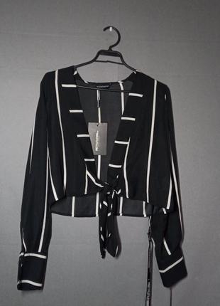 Новая блузка - накидка prettylittlething