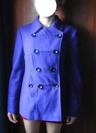 Cтильное трендовое красивое фиолетовое пальто 42-44 р-р m-l dorothy perkins