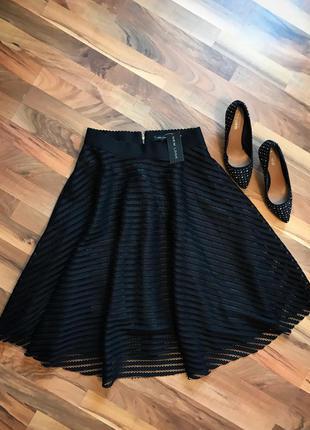 Шикарная юбочка с биркой new look