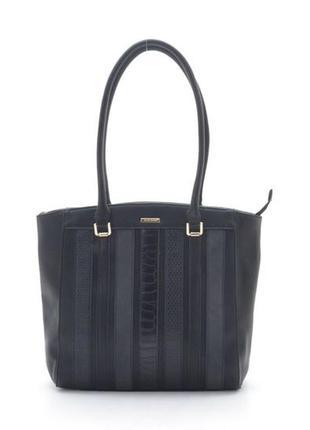 Женская сумка david jones 5622-3 черная