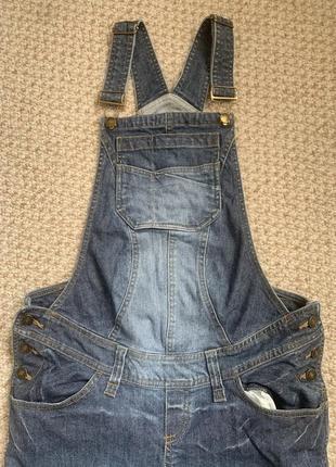 Комбинезон джинсы для беременных н&м