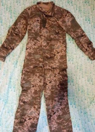 Военная форма пиксельная