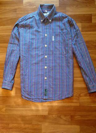Очень крутая рубашка в клетку ben sherman оригинал