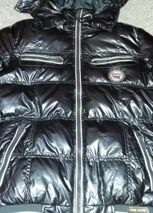 Стильная дутая куртка