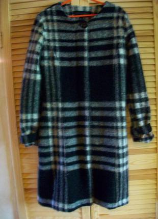 Пальто-тренч шерсть