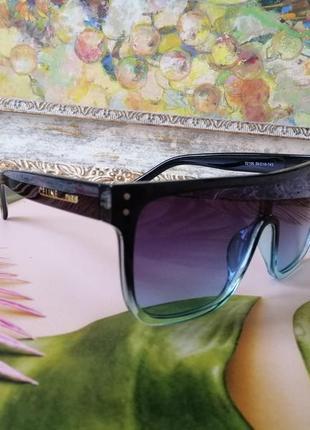 Эксклюзивные брендовые солнцезащитные очки маска  celine