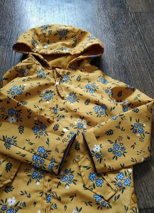 Ветровка, плащик, весенняя куртка 1-3 года4 фото