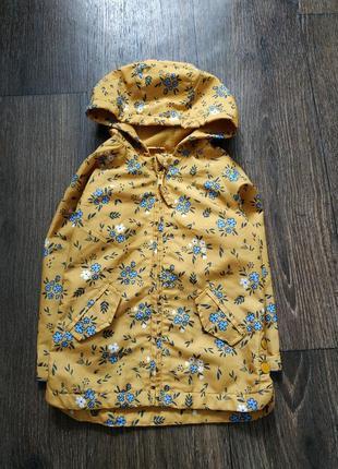 Ветровка, плащик, весенняя куртка 1-3 года
