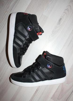 Кроссовки adidas originals varial mid, кожа+замша, оригинал, идеальные, лёгкие, удобные