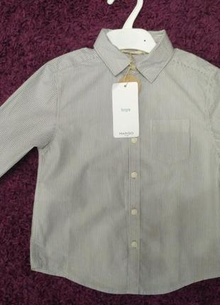 Рубашка на мальчика mango
