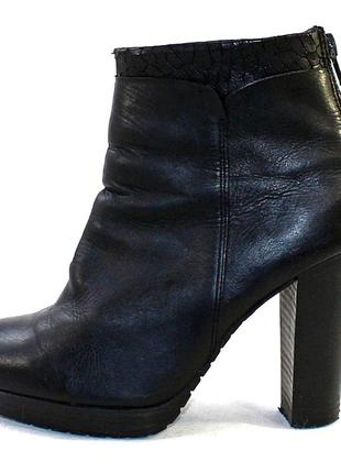 Ботинки 38 р venturini италия кожа оригинал демисезон