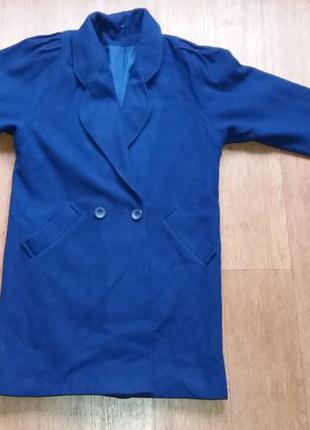 Пальто шерстяное фирменное