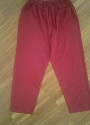 Домашние /пижама брюки м (38)р. 100% натуральный шелк