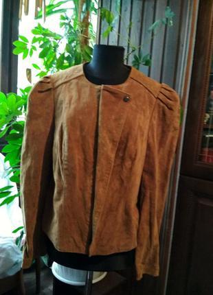Новая куртка из натуральной замши bodyflirt