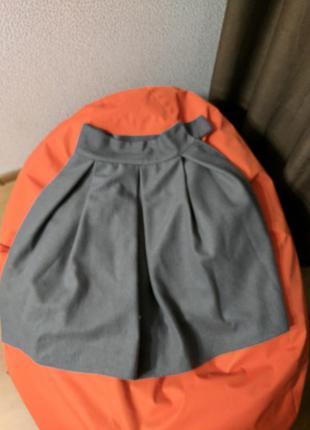 Теплая юбка на зиму