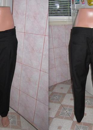 """Черные женские брюки фирмы """"h&m"""""""