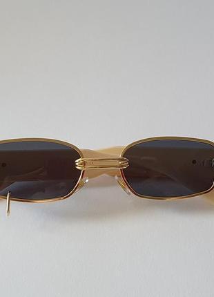 Очки женские солнцезащитные с пирсингом,  жіночі сонцезахисні окуляри