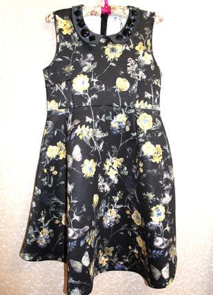 Новое с биркой! крутое платье с неопропелена от аsos 40-42 asos