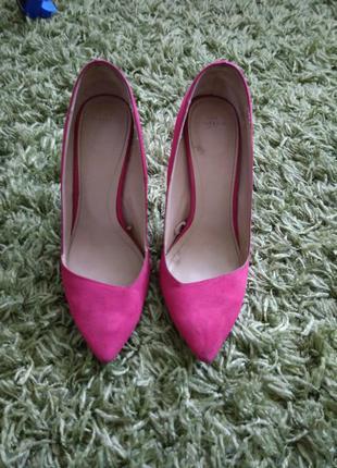 Супер туфли цвета фуксия !!!