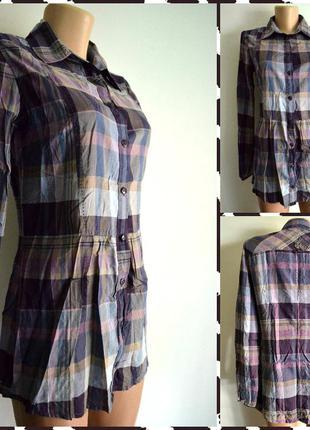 Tom tailor ® стильная рубашка размер s-m