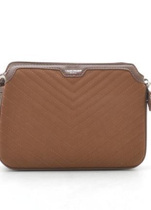 Клатч david jones cm5411 коричневая сумка 5411