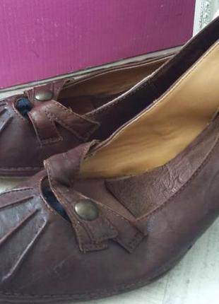 Туфли натуральная качественная кожа