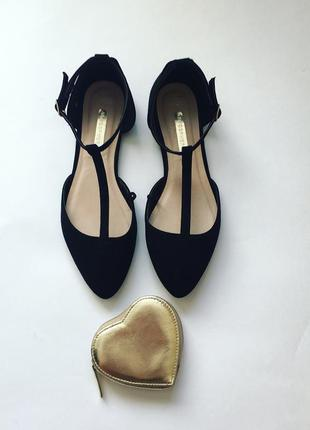 Балетки туфли-лодочки