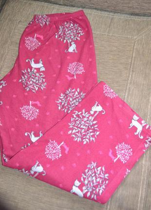 Пижамные штаны флис р.xl р.50-52