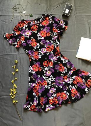 Atmosphere платье в цветы, платье в цветы натуральное, платье сарафан