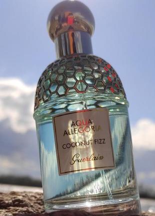 Guerlain agua allegoria coconut fizz 75 мл + подарок тестер 40 мл