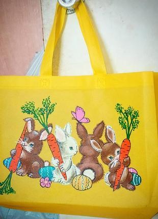 Шопер, желтая сумка , подарок