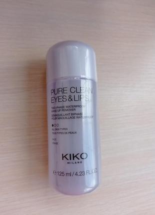 Средство для снятия макияжа kiko