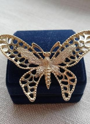Винтажная брошь бабочка sarah coventry