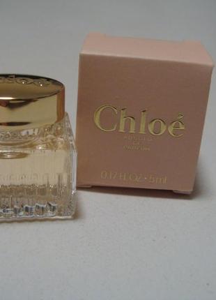 Chloe absolu de parfum. миниатюра. акция 1+=3